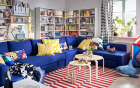 IKEA UK - Blue Sofa